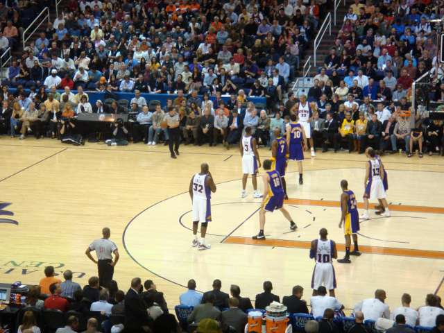 Phoenix Suns Lower Seats